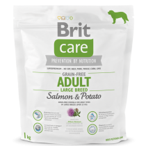 Brit Care Dog Grain-free Adult LB Salmon & Potato 1kg