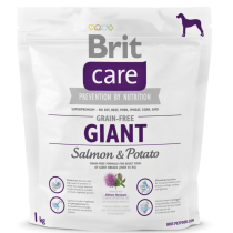 Brit Care Dog Grain-free Giant Salmon & Potato 1kg