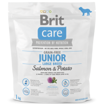 Brit Care Dog Grain-free Junior LB Salmon & Potato 1kg