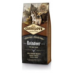 Carnilove Dog Reindeer for Adult 12kg + PAMLSKY