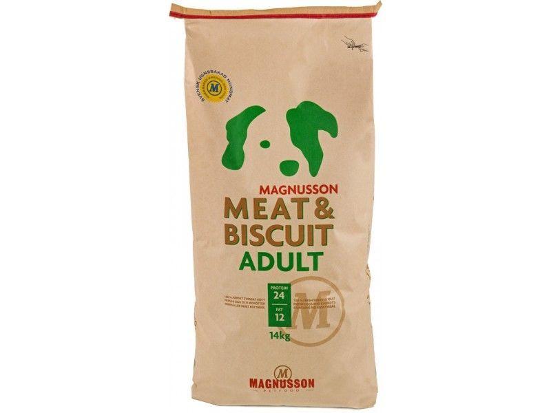 Magnusson Meat&Biscuit Adult 14kg - po registraci cena 1230,- Kč