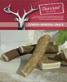 Paroží jelení pamlsek pro psy Chewies Geweih - Snack - S