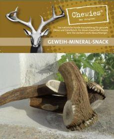 Paroží jelení pamlsek pro psy Chewies Geweih - Snack - M