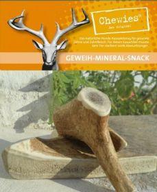 Paroží jelení pamlsek pro psy Chewies Geweih - Snack - L