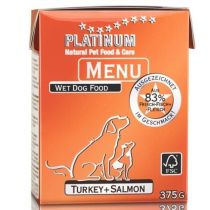 Platinum Natural Menu Krocan + Losos 375g