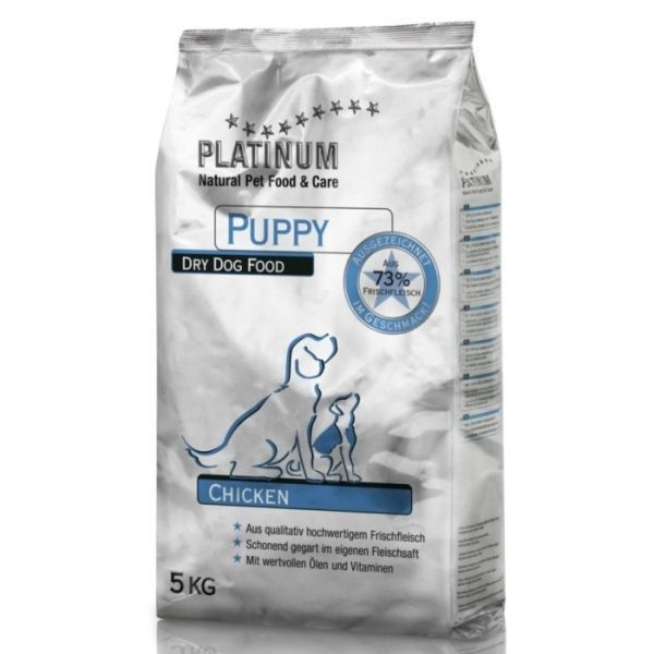 Platinum Natural Puppy Chicken - Kuřecí pro štěňata 15kg - po registraci cena 1733,- Kč + PAMLSKY