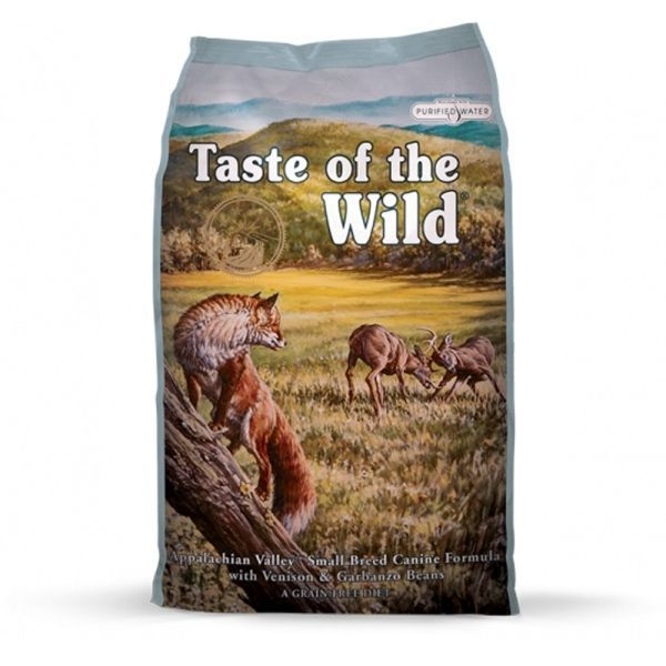 Taste of the Wild Appalachian Valley Small Breed 13kg - po registraci cena 1135,- Kč + PAMLSKY