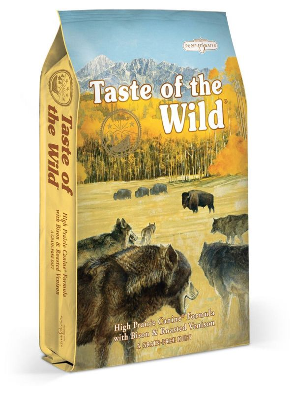 Taste of the Wild High Prairie 12,2kg - po registraci cena 1230,- Kč