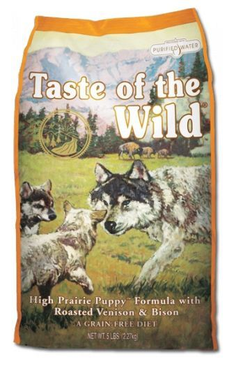 Taste of the Wild High Prairie Puppy 12,2kg - po registraci cena 1270,- Kč