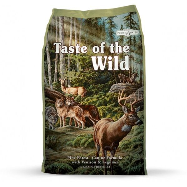 Taste of the Wild Pine Forest 12,2kg - po registraci cena 1230,- Kč