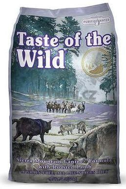 Taste of the Wild Sierra Mountain Canine 12,2kg - po registraci cena 1230,- Kč