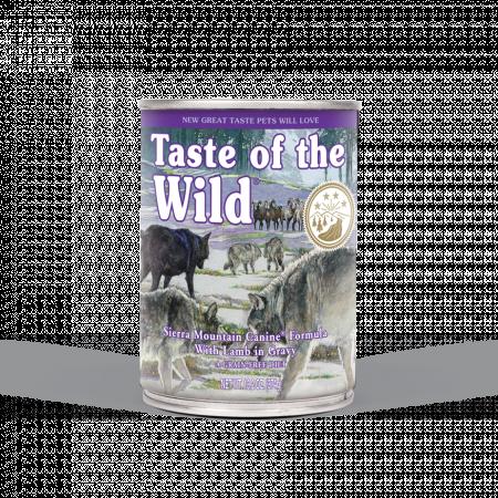 TASTE OF THE WILD SIERRA MOUNTAIN 375G