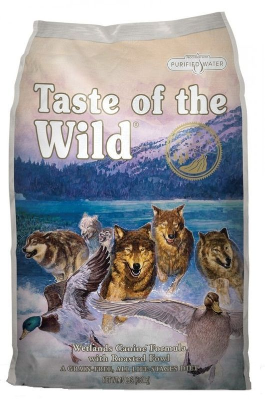 Taste of the Wild Wetlands Wild Fowl 12,2kg - po registraci cena 1230,- Kč