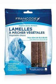 Francodex Weggy žvýkací plátky M 350g