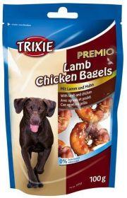 Premio LAMB CHICKEN BAGELS - jehněčí kroužky s kuřecím 100g