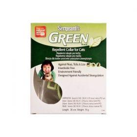 Sergeanťs Green obojek pro kočky 35cm
