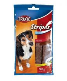 STRIPES Light - hovězí pásky pro psy 10ks/100g