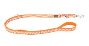 Vodítko reflexní přep. Red Dingo Ziggy 15mm x 2m - oranžové