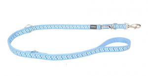 Vodítko reflexní přep. Red Dingo Ziggy 15mm x 2m - stř. modré