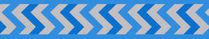 Vodítko reflexní Red Dingo Ziggy 15mm x 1,8m - stř. modré