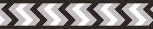 Vodítko reflexní Red Dingo Ziggy 20mm x 1,8m - černé