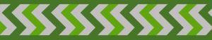 Vodítko reflexní Red Dingo Ziggy 20mm x 1,8m - zelené
