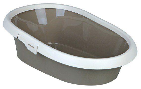 WC s rámem PAULO II. 39x17x58cm krémovo-šedohnědé Trixie