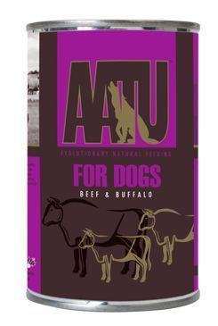AATU Dog Beef & Buffalo konz. 400g