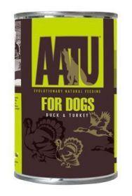 AATU Dog Duck & Turkey konz. 400g