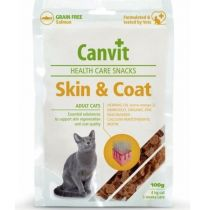 Canvit Snacks CAT Skin&Coat 100g