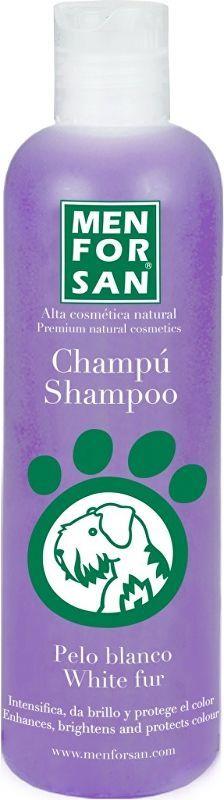 Menforsan Šampon pro zesvětlení bílé srsti pes 300ml