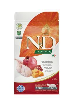 N&D GF Pumpkin CAT Quail&Pomegranate 300g