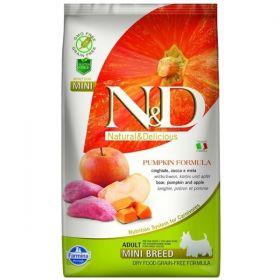 N&D GF Pumpkin DOG Adult Mini Boar&Apple 7kg