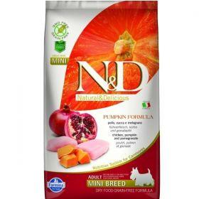N&D GF Pumpkin DOG Adult Mini Chicken&Pomegranate 2,5kg