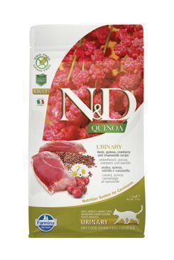 N&D GF Quinoa CAT Urinary Duck&Cranberry 1,5kg