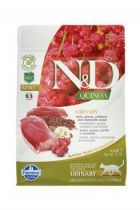 N&D GF Quinoa CAT Urinary Duck&Cranberry 300g