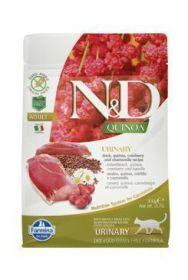 N&D GF Quinoa CAT Urinary Duck&Cranberry 300g