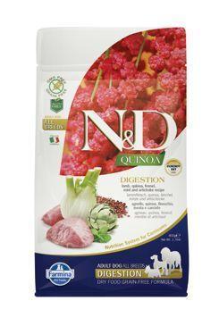 N&D GF Quinoa DOG Digestion Lamb&Fennel 7kg
