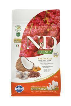 N&D GF Quinoa DOG Skin&Coat Herring&Coconut 2,5kg