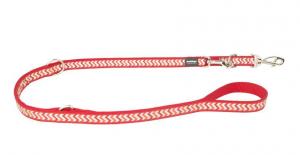 Vodítko reflexní přep. Red Dingo Ziggy 25mm x 2m - červené