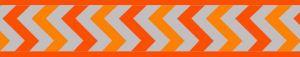 Vodítko reflexní přep. Red Dingo Ziggy 25mm x 2m - oranžové
