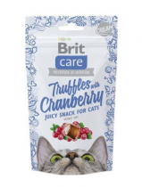 Brit Care Cat Snack Truffles Cranberry 50g