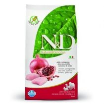 N&D GRAIN FREE DOG ADULT CHICKEN & POMEGR 12KG