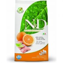 N&D GRAIN FREE DOG ADULT FISH & ORANGE 800G