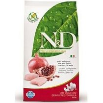 N&D GRAIN FREE DOG ADULT MINI CHICKEN&POMEGR 2,5KG