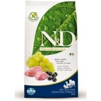N&D GRAIN FREE DOG ADULT MINI LAMB & BLUEBERRY 2,5KG