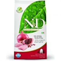 N&D GRAIN FREE DOG PUPPY MAXI CHICKEN & POMEGR 12KG