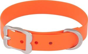 Obojek Red Dingo Vivid 20 mm x 34-42 cm - Oranžová