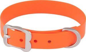 Obojek Red Dingo Vivid 25 mm x 40-50 cm - Oranžová