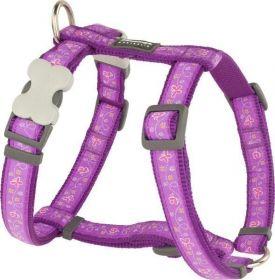 Postroj se vzorem Red Dingo 20mm x 45-66cm - Butterfly Purple